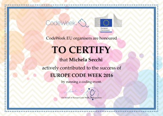 certificatocodeweek